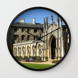 St. John's College, Cambridge Wall Clock