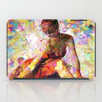 kandinsky iPad Cases featuring Ballerina In Repose by Mark Compton