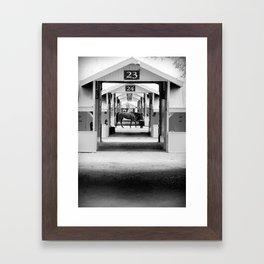 Hotwalk Framed Art Print