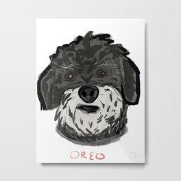 Oreo Metal Print