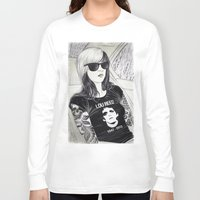 lou reed Long Sleeve T-shirts featuring Lou Reed by IvándelgadoART