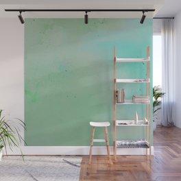 Greenscape Watercolour Wall Mural