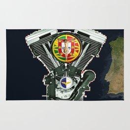 Portuguese Motorcycle Community Rug
