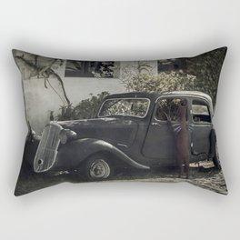 El viaje Rectangular Pillow