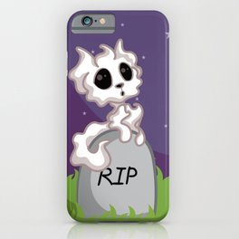 Adorable Ghost Kitty iPhone Case