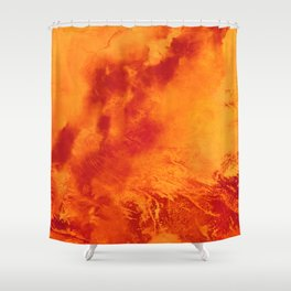 The Fires We Light Shower Curtain