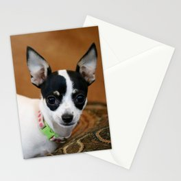 Puppy Portrait Stationery Cards