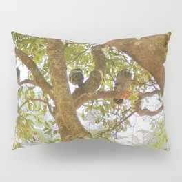 Incense tree with pigeons Pillow Sham