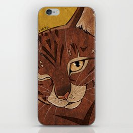 Mysterious Boy iPhone Skin