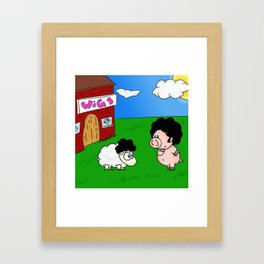 Impostor! Framed Art Print