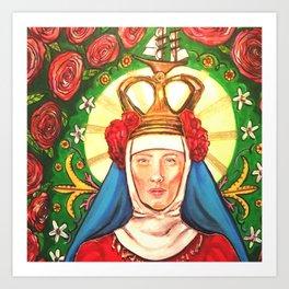 Galadriel Mary Art Print