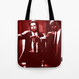 Minimalistic Pulp Fiction Tote Bag