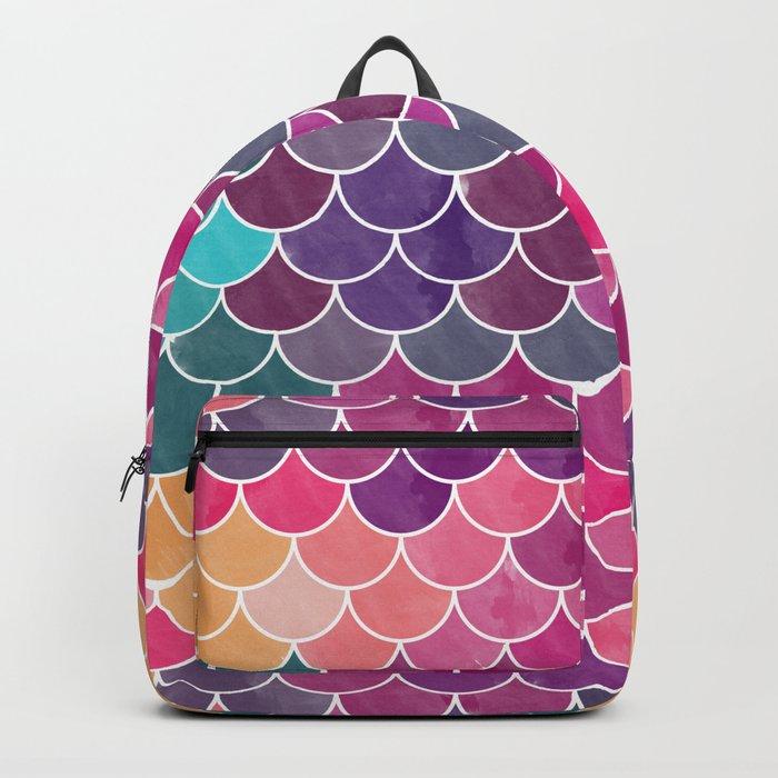 Watercolor Lovely Pattern VV Backpack