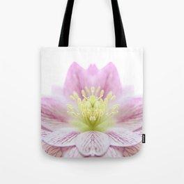 Hellebore Flower Symmetry Tote Bag