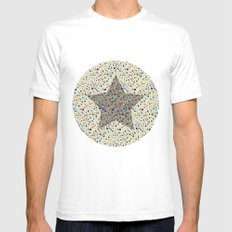 star Mens Fitted Tee White SMALL