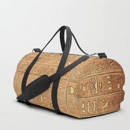 Ancient Script Duffle Bag