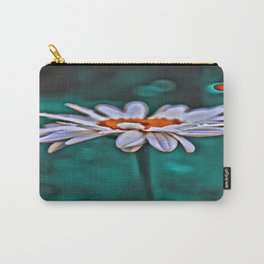 Painted Daisey Carry-All Pouch