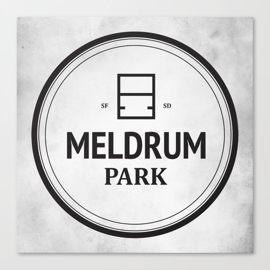 Meldrum Park Canvas Print