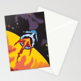 FLIGHT TO MARS Stationery Cards