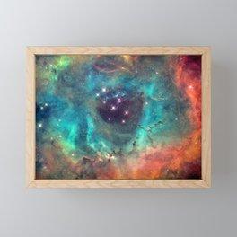 Colorful Nebula Galaxy Framed Mini Art Print