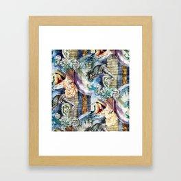 Texture C10 Framed Art Print