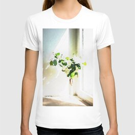 Vase of Flowers with shadows watercolor T-shirt
