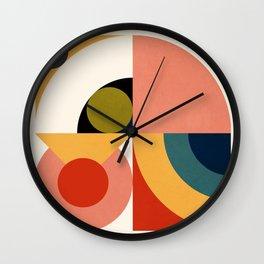 Roud Flow No. 4 Wall Clock