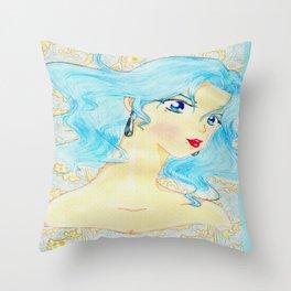 Shi Shi by the Sea Throw Pillow