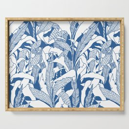 Tropical Blues Serving Tray
