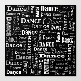 Just Dance! Canvas Print