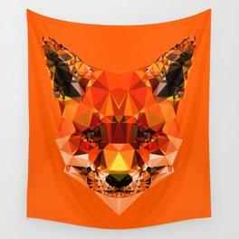 Geometric Fox Wall Tapestry