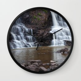 Lower Gooseberry Falls Wall Clock