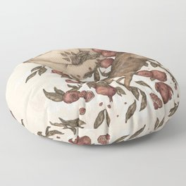 Coyote Love Letters Floor Pillow