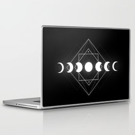 Moon Phases Laptop & iPad Skin