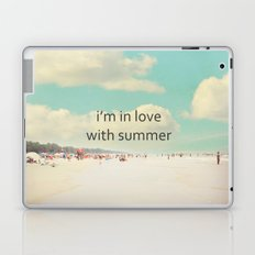 i'm in love with summer Laptop & iPad Skin