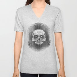 Calaca or Skull Unisex V-Neck