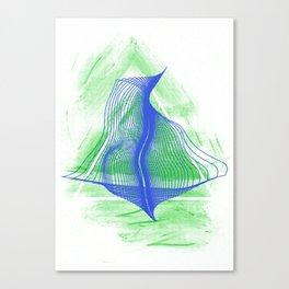 Triangle Shape Canvas Print