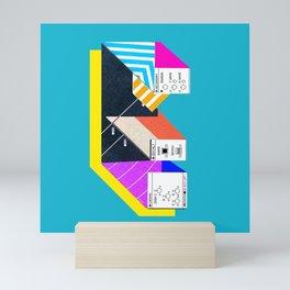 E Mini Art Print