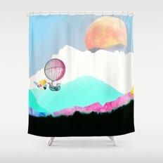 Magic Moon Shower Curtain