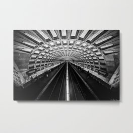 The Underground Metal Print