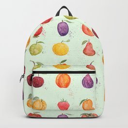 fruit collection watercolor Backpack
