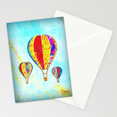 Beautiful Balloons Mosaic-Look Stationery Cards
