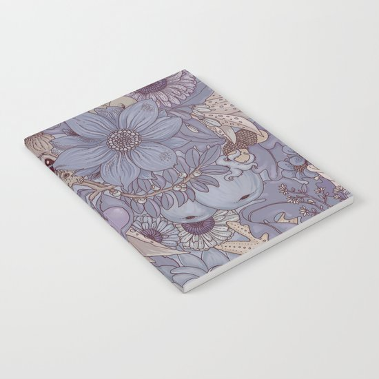 the wild side - icy tones Notebook