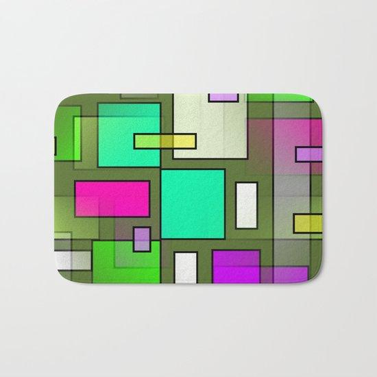 Color Structure Bath Mat