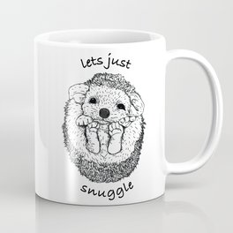 Hedgehog snuggle Coffee Mug