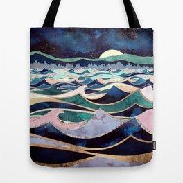 Moonlit Ocean Tote Bag