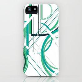 Deco D iPhone Case