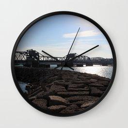 Steel Bridge Wall Clock