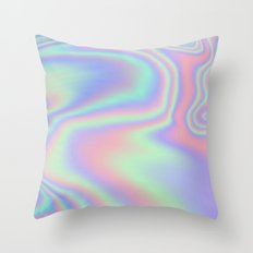 Iridescent  Throw Pillow