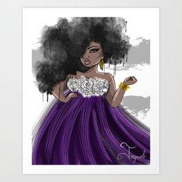 Diva Art Print